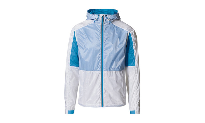 Taycan Collection, Unisex Ultra Light White / Blue Jacket