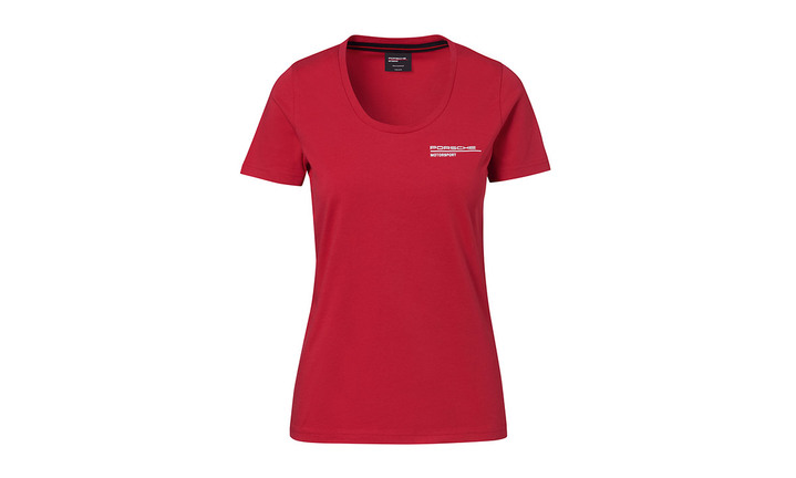 Women's Red t-shirt Motorsports Collection, Fanwear