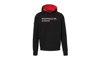 Men's Black hoodie Motorsports Collection, Fanwear