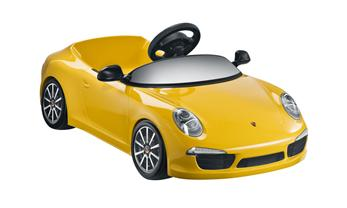 Children's 911 Carrera electric car