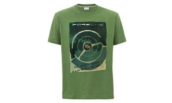 T-SHIRT RETRO GREEN